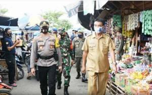Wakil Bupati Barito Utara Turun Langsung Patroli Penerapan Protokol Kesehatan