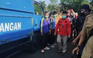 Pemprov Kalteng Beri Bantuan Dapur Umum untuk Korban Banjir