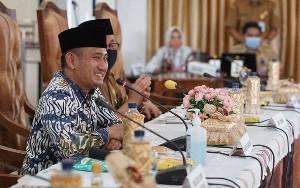Wali Kota Palangka Raya Bersama Anggota DPRD Berkunjung ke Kabupaten Tabalong, Ini Yang Dibahas