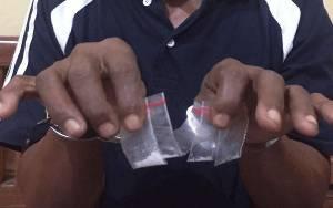 Edarkan Narkoba, Warga Terawan Diamankan