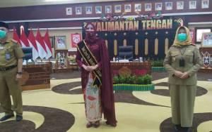 Yulistra Ivo Sugianto Sabran Dikukuhkan Sebagai Bunda Literasi Kalimantan Tengah