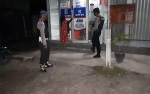 Polsek Hanau Patroli Cegah Tindak Kejahatan