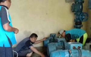 Distribusi Air PDAM Terganggu Akibat Banjir di Katingan