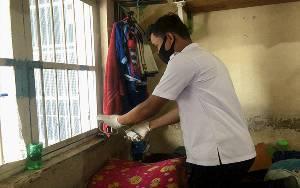 Jaga Keamanan, Petugas Rutan Palangka Raya Razia Blog Hunian