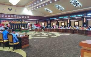 Gubernur Kalteng Pimpin Rapat Kerja Penyelenggaraan Pemerintah Desa Seluruh Kalimantan Tengah