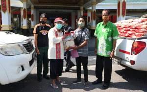 Katingan Kembali Dapat Bantuan Sembako untuk Korban Banjir