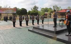 Kapolres Seruyan Pimpin Sertijab Tiga Perwira
