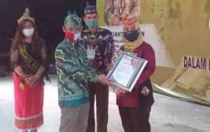 BPBD Palangka Raya Dapat Penghargaan Predikat Berprestasi dan Penuh Aksi