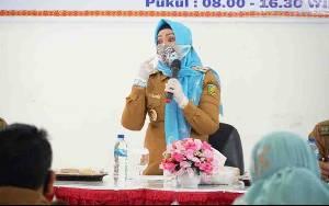 Wakil Wali Kota Palangka Raya Minta Camat Edukasi Warga Patuhi Protokol Kesehatan