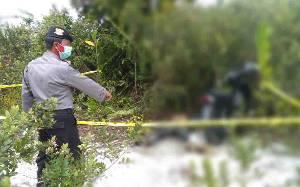 Mayat Laki-laki Ditemukan Membusuk di Kawasan Galian C Tangkiling