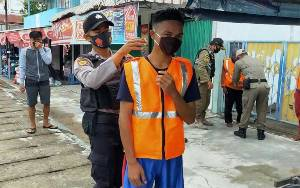 Operasi Yustisi Pendisiplinan Protokol Kesehatan Terus Digencarkan di Seruyan