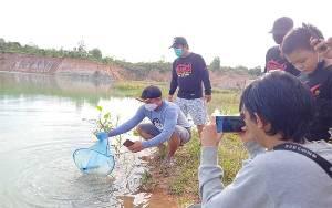Miliki Potensi, Komunitas Ini Minta Pemkab Barito Timur Perjuangkan Danau Biru