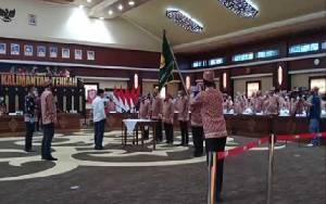 Gubernur Lantik Pengurus Kerukunan Keluarga Bakumpai Kalteng Periode 2020-2025