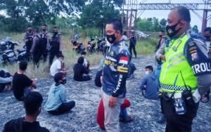 Puluhan Pembalap Liar yang Terjaring Mengaku Masuk Sirkuit Sabaru Dipungut Rp 10 Ribu