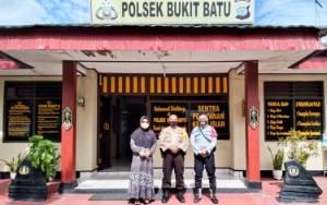 Kapolsek Bukit Batu Terima Kunjungan Kepala Lembaga Pemasyarakatan Perempuan