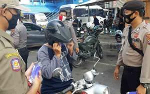 Tim Gabungan di Kapuas Terus Disiplinkan Masyarakat Gunakan Masker