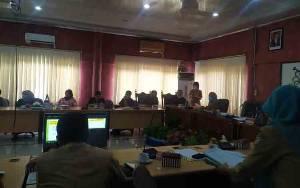 Banggar DPRD Bersama TPAD Pemko Bahas Penyusunan APBD 2021 dan Pemulihan Ekonomi