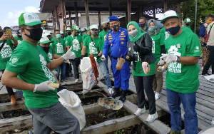 Satuan Polairud Polres Seruyan Minta Warga Jaga Kebersihan Sungai