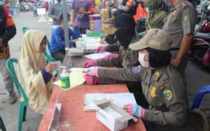 591 Warga Palangka Raya Terjaring Razia Masker Selama Sepekan
