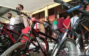 Polres Kendari Tangkap 6 Pelajar Komplotan Pencuri Sepeda