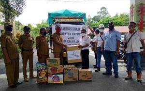 Bantuan Korban Banjir di Katingan Terus Mengalir