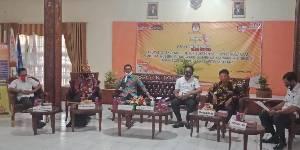 KPU Barito Selatan Talk Show dan Uji Publik DPS Pilgub Kalteng