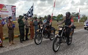 Apel Gelar Launching Serentak Tim Reaksi Cepat Penindakan Prokes Covid-19 Juga Dilaksanakan Polres Katingan