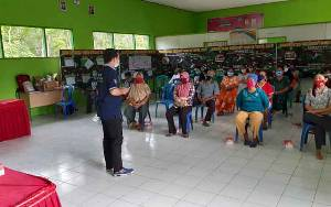 Satgas TMMD Gelar Penyuluhan Kesehatan dan Pelayanan KB di Desa Sibung