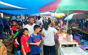 Pasar Mingguan Jadi Penggerak Perekonomian Desa