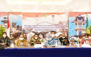 Pemkab Barito Utara Ikuti Rakernas Akuntansi dan Pelaporan Keuangan Pemerintah