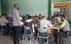77 Anggota Polres Kapuas Telah Jalani Ujian Kenaikan Pangkat