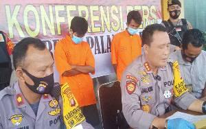 2 Pelaku Curanmor di Jalan Murjani Ditangkap