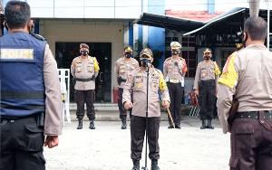 Tahapan Penetapan Paslon, Kapolda Cek Pengamanan di KPU dan Bawaslu