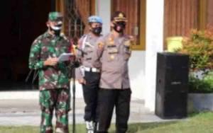 TNI-Polri Gelar Apel Kesiapsiagaan Pengamanan Pilkada Kalteng