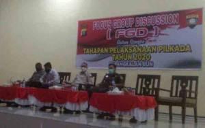 Polres Kobar Gelar FGD Kesiapan Pelaksanaan Pilkada 2020