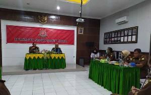 Kejari Barito Timur Terima Kunjungan Tim Inspeksi Umum Kejati Kalimantan Tengah