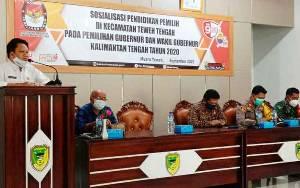 KPU Barito Utara Sosialisasi Pendidikan Pemilih untuk Kejar Target 77 Persen Partisipasi