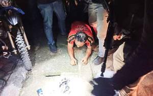 Terduga Pelaku Narkoba Diamankan di Jalan PM Noor Palangka Raya