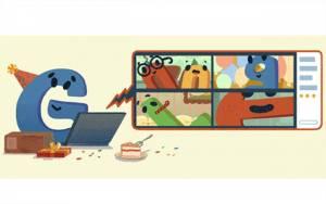 Google Doodle Rayakan Ulang Tahun ke-22 Google