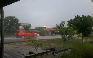 Curah Hujan di Katingan Kembali Tinggi, Warga Khawatir Banjir Susulan