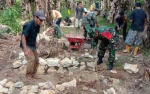Kades: TMMD Wujud Nyata Pemerintah dan TNI Realisasikan Keinginan Masyarakat