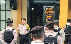 Kabag Ops Polresta Palangka Raya Pimpin Apel Analisa dan Evaluasi Satgas Covid-19