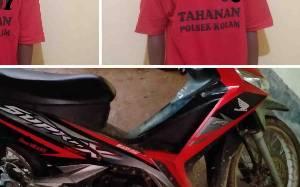 Polisi Tangkap 2 Pencuri Sepeda Motor, 1 Masih di Bawah Umur