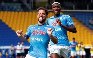 Napoli Menggila dengan Pesta 6 Gol Tanpa Balas ke Gawang Genoa