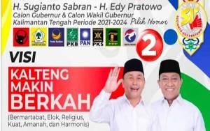 H.M Ruslan AS: Tim Kampanye Paslon 02 Sugianto Sabran - Edy Pratowo Wajib Disiplin Laksanakan Protokol Kesehatan