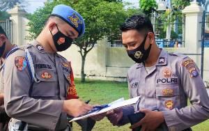 Sipropam Polresta Palangka Raya Cek Sikap Tampang dan Kelengkapan Personel
