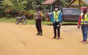 Desa Suka Maju Jadi Sasaran Operasi Yustisi Covid-19