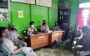 Kapolsek Kahayan Kuala Harapkan Panitia Pilkades Desa Sei Pasanan Jaga Netralitas
