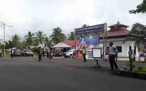 Satgas Yustisi Covid-19 Seruyan Gelar Operasi di Desa Persil Raya