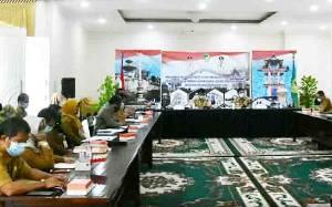 Pemkab Barito Utara Laksanakan Rapat Evaluasi Penyerapan APBD 2020